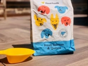 heed-foods-new-packaging-salmon with scoop- Heed Foods Premium Dry Dog Food Review - MealFinds