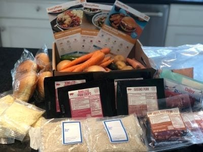 everyplate-meal-kit-box-ingredients- EveryPlate Meal Kit Review - MealFinds