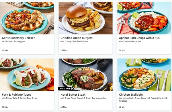 everyplate-sample-menu- EveryPlate Meal Kit Review - MealFinds