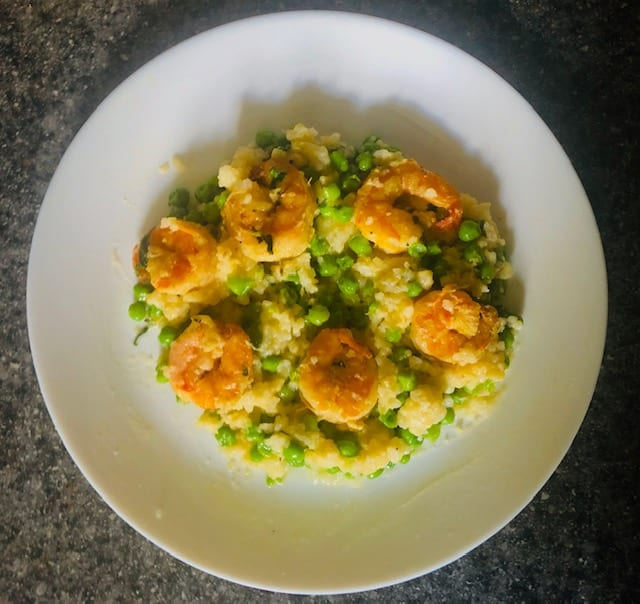 RealEats-Shrimp-&-Pea-Risotto-realeats healthy prepared meals review-mealfinds