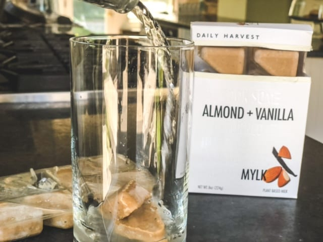 daily-harvest almond and vanilla mylk-daily harvest reviews-mealfinds