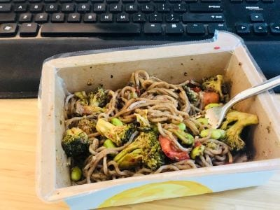 mosaic-foods-spicy-soba-noodle- mosaic foods service reviews - mealfinds