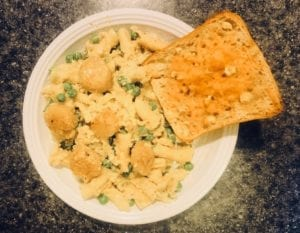 Home-Chef-Scallop-Scampi-Campanelle-with-Creamy-Parmesan-Sauce- Home Chef Meal Kits Review - MealFinds