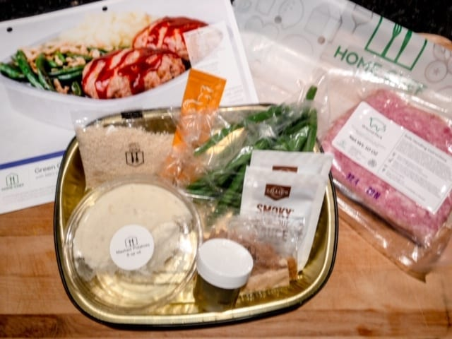 home-chef-easy-prep-meatloaf-ingredients- Home Chef Meal Kits Review - MealFinds