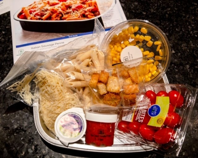 Home Chef Oven Ready Pasta - Home Chef Meal Kits Review - MealFinds