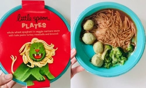 little-spoon spaghetti-meatballs in packaging-little spoon plates and blends reviews-mealfinds