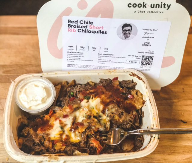 short rib chilaquiles-cookunity prepared meals reviews - mealfinds