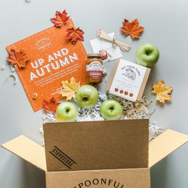 spoonful-of-comfort-caramel-apple-package- spoonful of comfort reviews-mealfinds