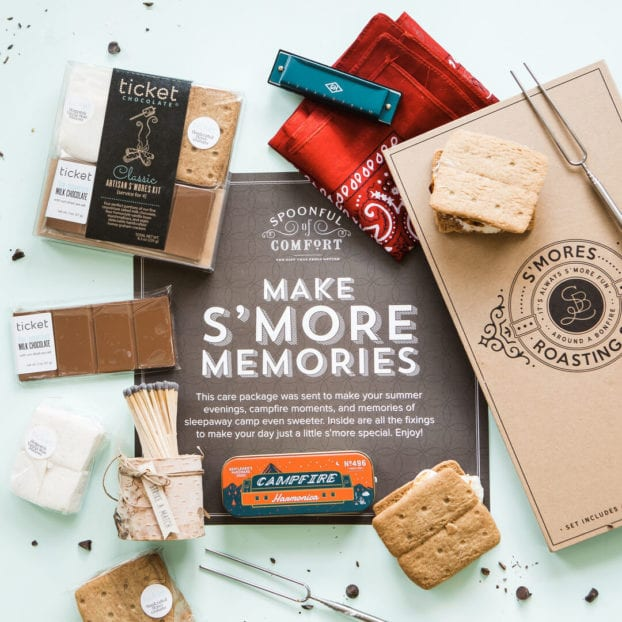 spoonful-of-comfort-smores-box- spoonful of comfort reviews-mealfinds