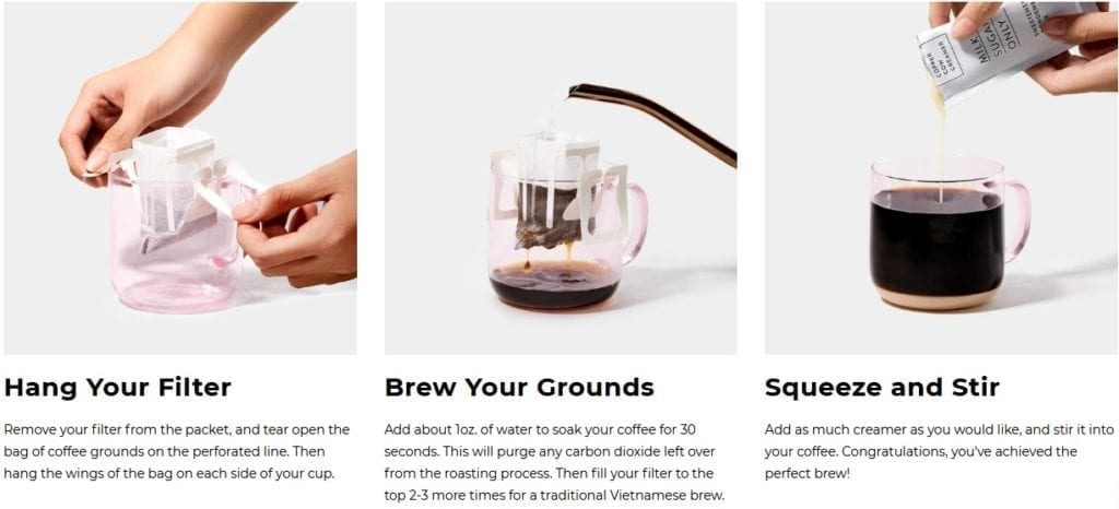 how to brew hot pour over coffee-copper cow coffee reviews-mealfinds