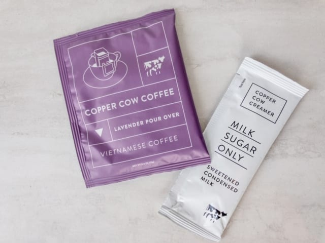 copper cow coffee lavender and cream set-copper cow coffee reviews-mealfinds