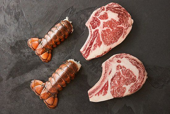 crowd cow surf and turf food gift- mealfinds