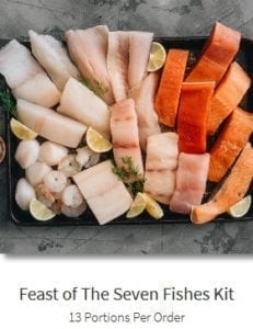 sizzlefish-feast-of-the-seven-fishes-kit- Sizzlefish Seafood Delivery Reviews - MealFinds