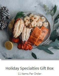 sizzlefish-holiday-specialties-gift-box- Sizzlefish Seafood Delivery Reviews - MealFinds