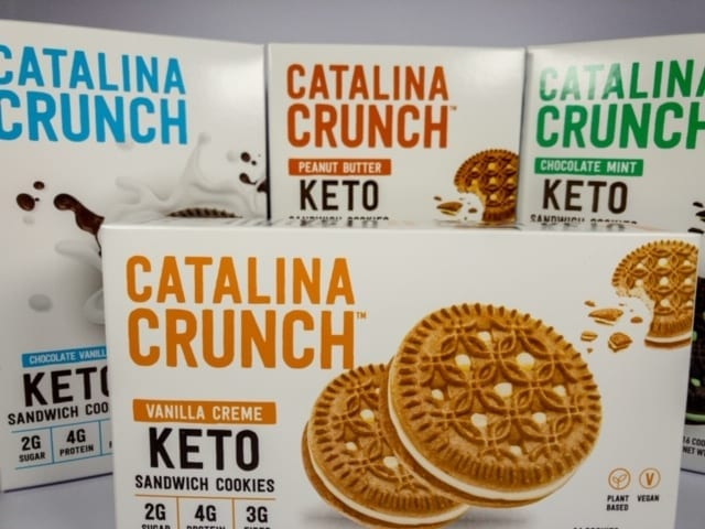 catalina crunch cookies variety pack of 4 boxes-catalina crunch keto cereal reviews-mealfinds