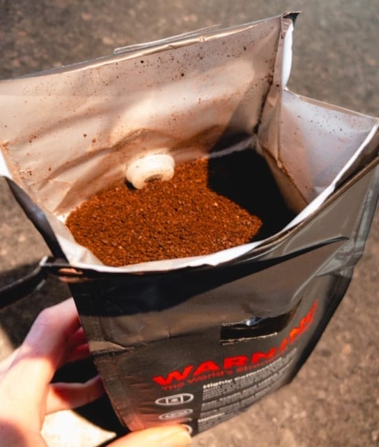 death wish coffee ground beans in bag-death wish coffee company review-mealfinds