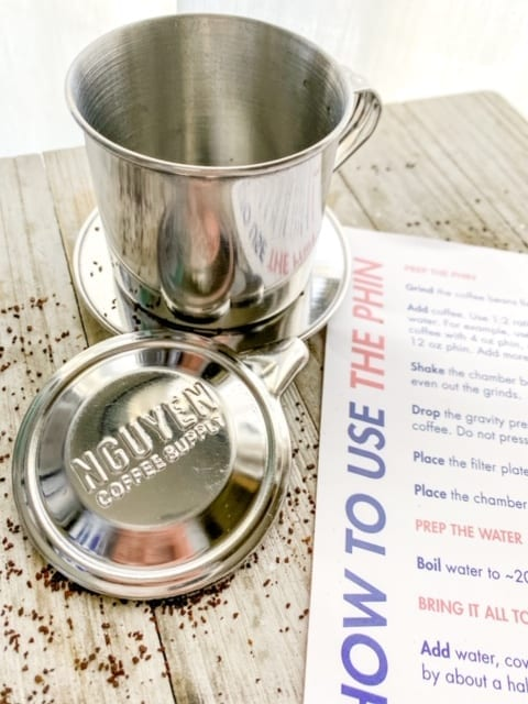 phin filter kit how to sheet-nguyen coffee supply reviews-mealfinds
