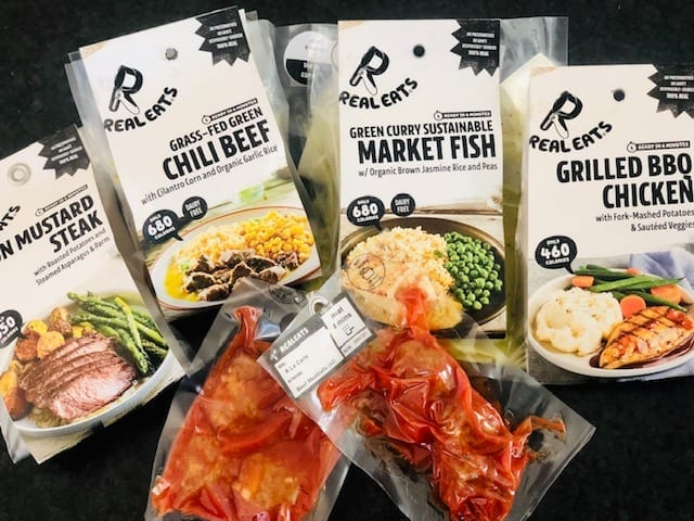 realeats meals on counter-realeats healthy prepared meals review-mealfinds