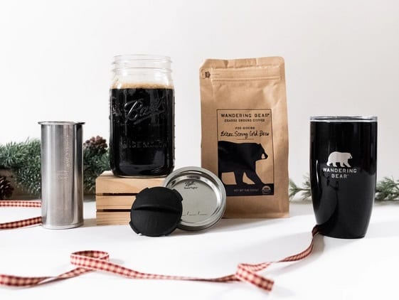 wandering-bear-coffee-cold-brew-homebrew-gift- gifts for coffee lovers-mealfinds