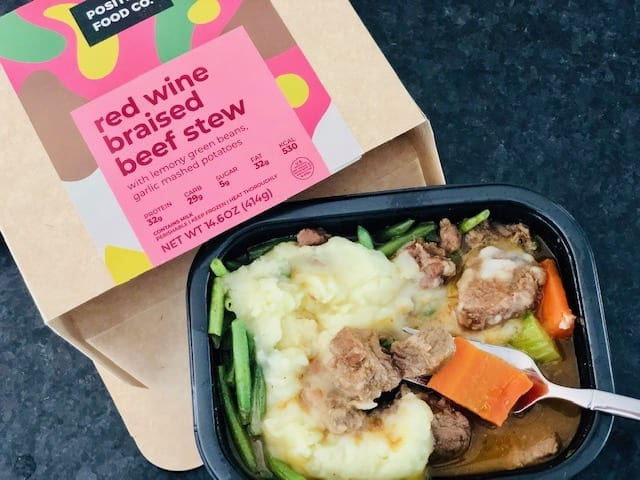 thrive market positive food co beef stew cooked-thrive market reviews-mealfinds