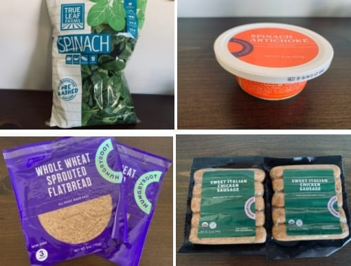 hungryroot-flatbread meal kit ingredients-hungryroot reviews-mealfinds