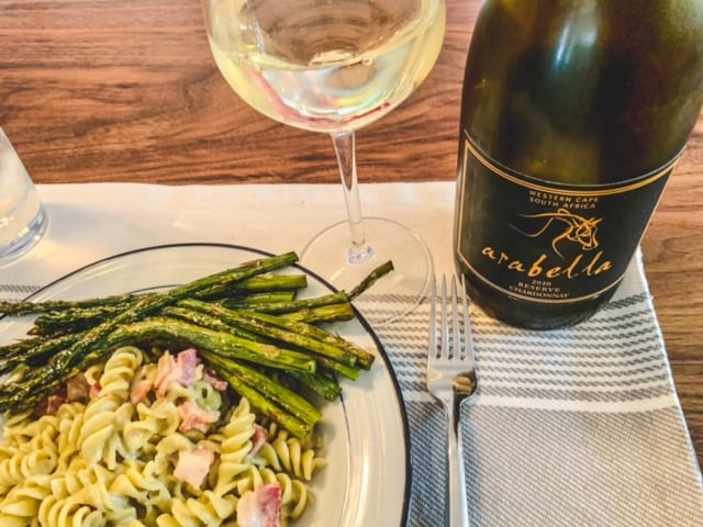 arabella wine with meal -naked wines reviews-mealfinds