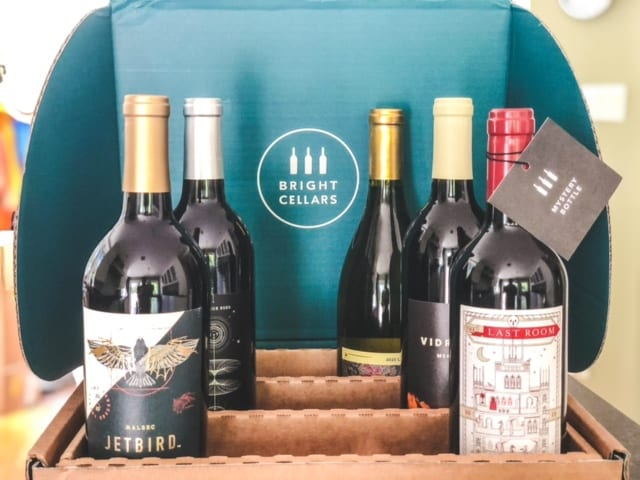 open bright cellars box with wine-bright cellars review-mealfinds