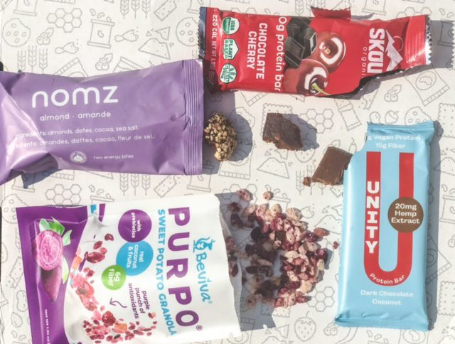 protein bars and potato granola--tastecrate review-mealfinds