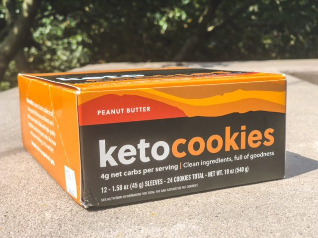 peanut butter keto cookies box-perfect keto bars reviews-mealfinds