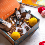shaker and spoon cocktail box