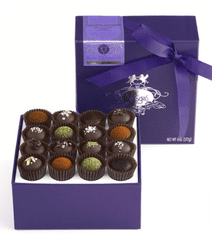 Dark Chocolate Truffle Collection by vosges-food gift ideas-mealfinds