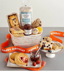 birthday bakery gift basket from wolfermans-food gift ideas-mealfinds