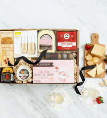 bubbly chese gift box-housewarming food gift ideas-mealfinds