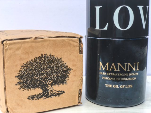 manni tree of life olive oil box and love olive oil containers-MANNI Extra Virgin Olive Oil Reviews-mealfinds